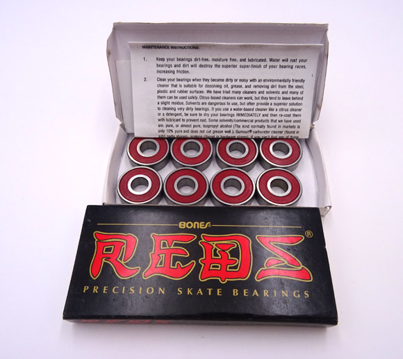 Skate Bearing 608RS Bones Reds Bearing 8227mm